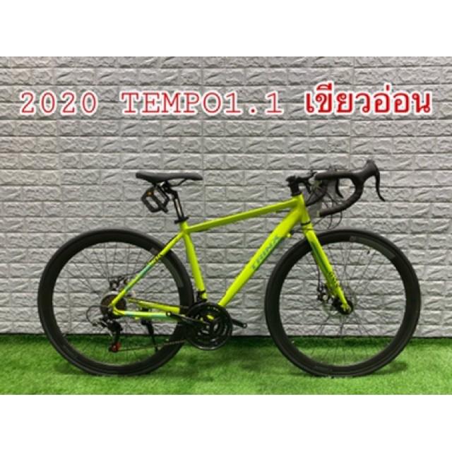 JinDaShop อะไหล่จักรยานอุปกรณ์จักรยาน ผ่อนได้! ฟรีส่ง!จักรยานเสือหมอบTRINX TEMPO1.1 อุปกรณ์จักรยานทัวร์ริ่ง