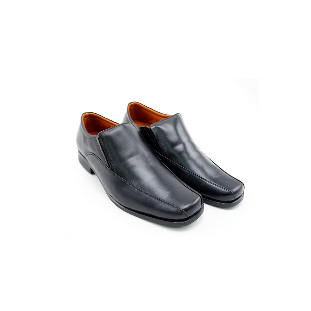 LUIGI BATANI รองเท้าคัชชูหนังแท้ รุ่น LBD573-51 สีดำ