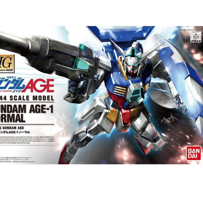 Hg Gundam Age-1 Gundam Age-1 ของเล่นสําหรับเด็ก 01