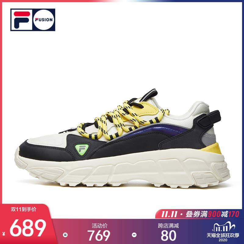 รองเท้าผู้ชาย รองเท้าผ้าใบFILA FUSION SKYRUNNERคนรักเพศหญิงรองเท้าวิ่ง2020ฤดูใบไม้ร่วงและฤดูหนาวรองเท้ากีฬาปีนเขาชายใหม่