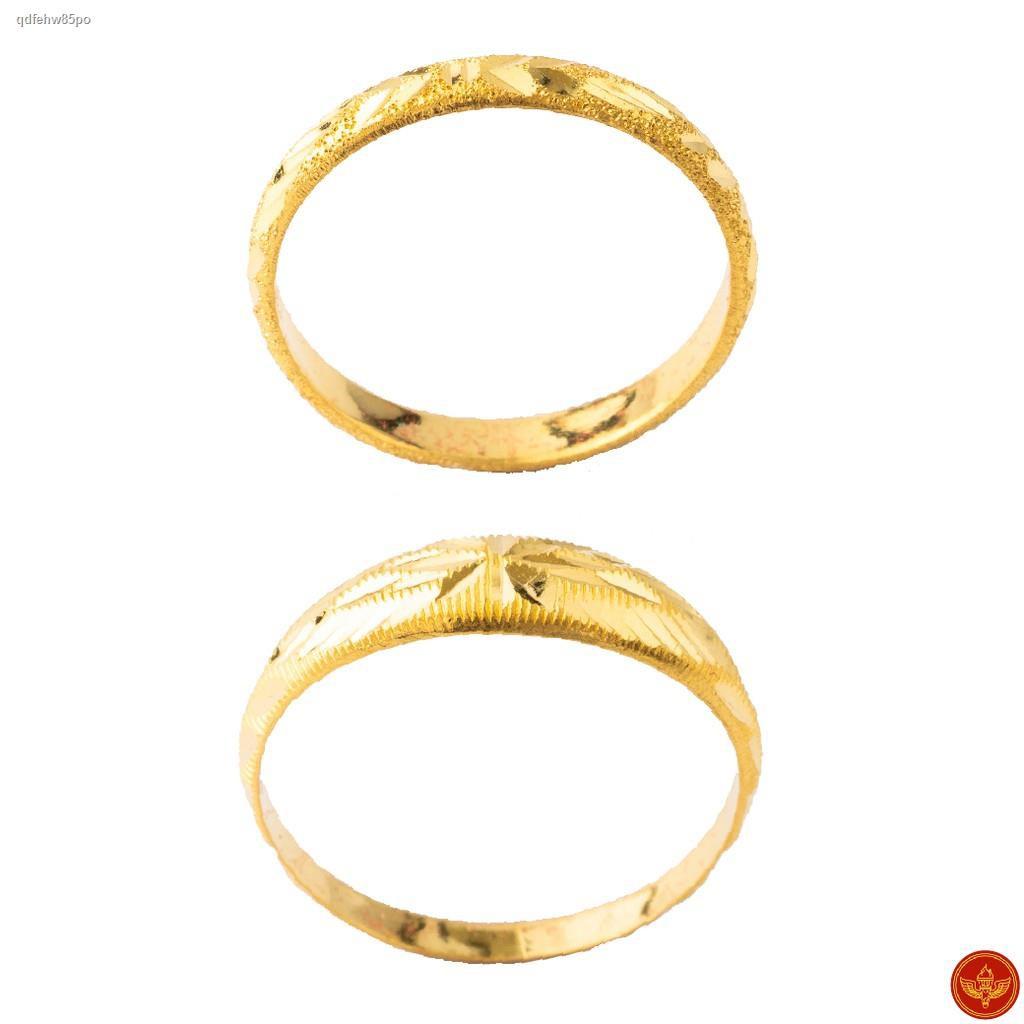 ราคาต่ำสุด✔[ทองคำแท้] LSW แหวนทองคำแท้ 1 กรัม ราคาพิเศษ มาพร้อมใบรับประกัน (FLASH SALE 1)