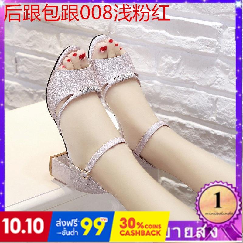 ⭐👠รองเท้าส้นสูง หัวแหลม ส้นเข็ม ใส่สบาย New Fshion รองเท้าคัชชูหัวแหลม  รองเท้าแฟชั่นรองเท้าผู้หญิงใหม่เวอร์ชั่นเกาหลีขอ