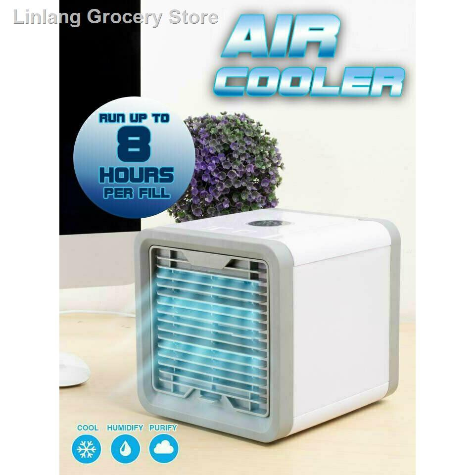 เครื่องใช้ในครัวเรือน▩ARCTIC AIR พัดลมไอเย็นตั้งโต๊ะ พัดลมไอน้ำ พัดลมตั้งโต๊ะขนาดเล็ก เครื่องทำความเย็นมินิ แอร์พกพา Eva