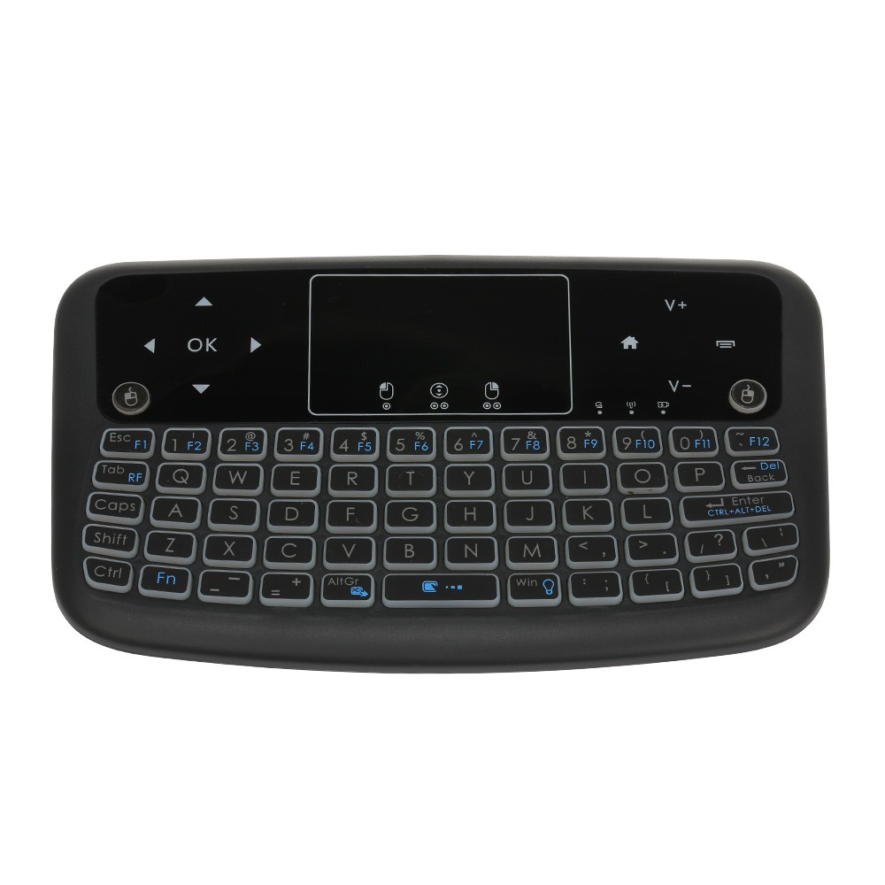H96 Pro VOICE CONTROL Android 7.1 Octa Core Wifi TV Box+Color Backlit Keyboard