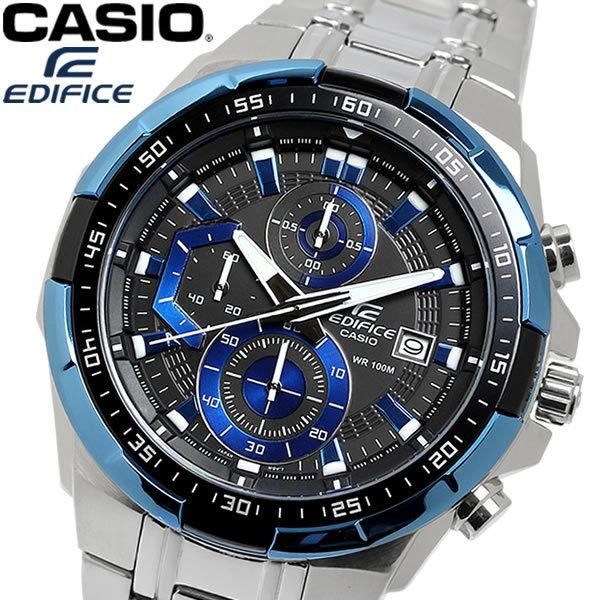 Casio Edifice รุ่น EFR-539D-1A2V สินค้าขายดี นาฬิกาข้อมือผู้ชาย สายสแตนเลส Men's Watch จัดส่งฟรี mdPp