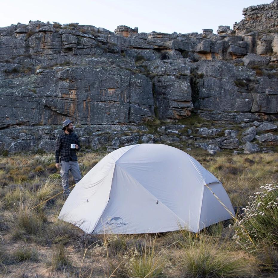 BAL เต้นปิ๊กนิก เต้นเดินป่า เต็นท์สำหรับ 2 คน Mongar Ultralight Two Men Tent NH17T007-M | Naturehike