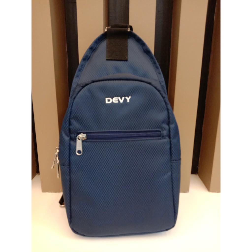 กระเป๋าสะพายข้าง DEVY สีกรม