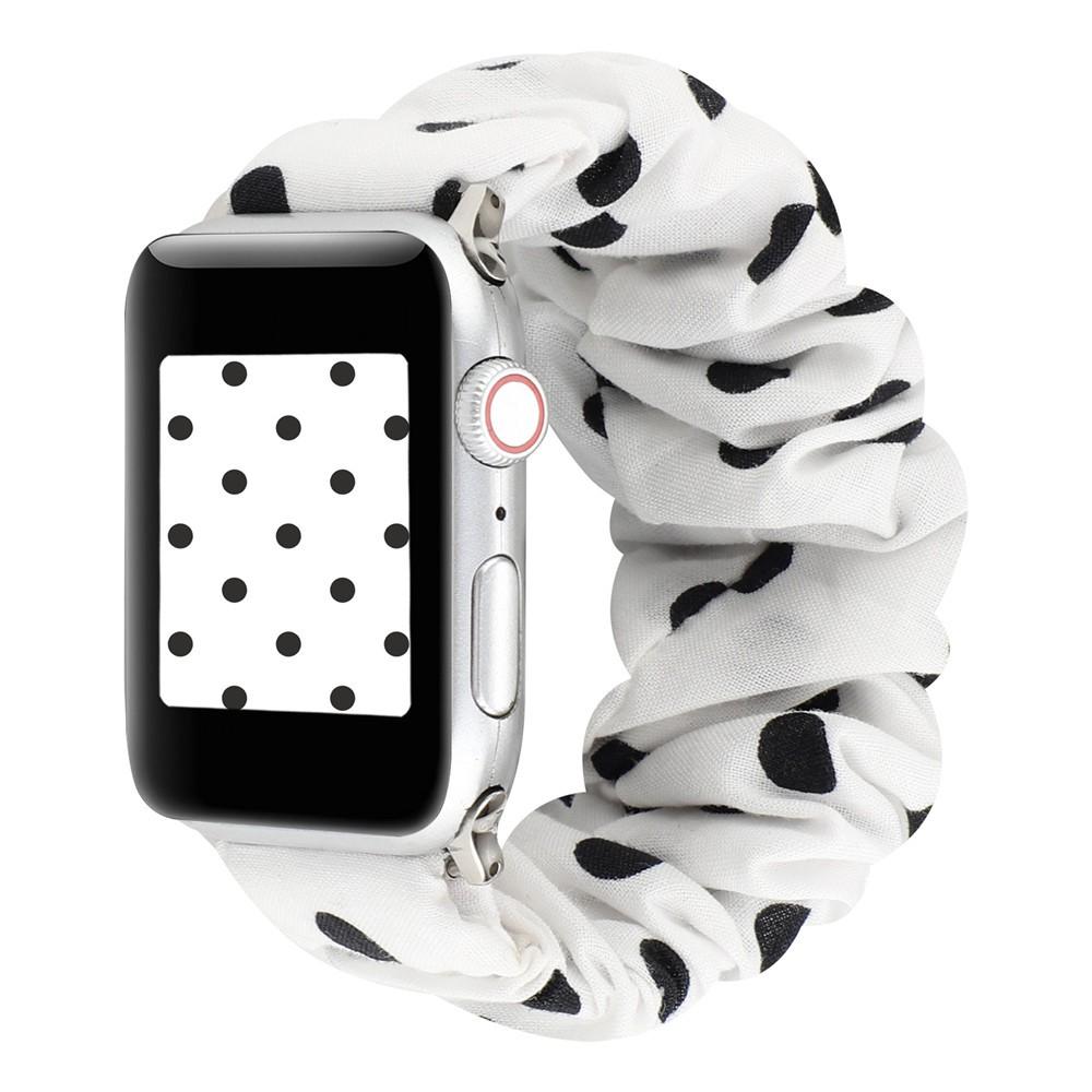 สายนาฬิกาข้อมือยางยืดสําหรับ Apple Watch Band Series 5 44 มม .