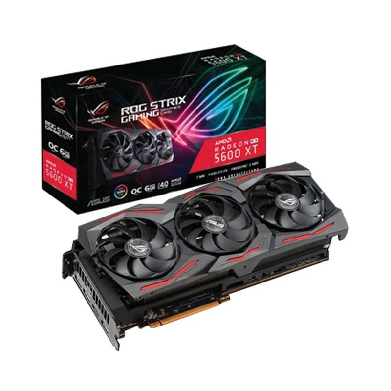 6GB GDDR6 AMD RX5600XT ASUS ROG STRIX O6G GAMING
