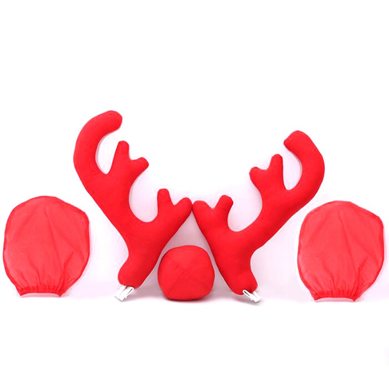 6 x REINDEER ANTLERS CHRISTMAS DECORATION FANCY DRESS STOCKING FILLER FATHER SAN