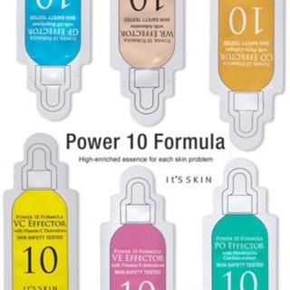 (Vcกดคนละไม่เกิน50ชิ้น) lt's skin power 10 Formula serum 1ml