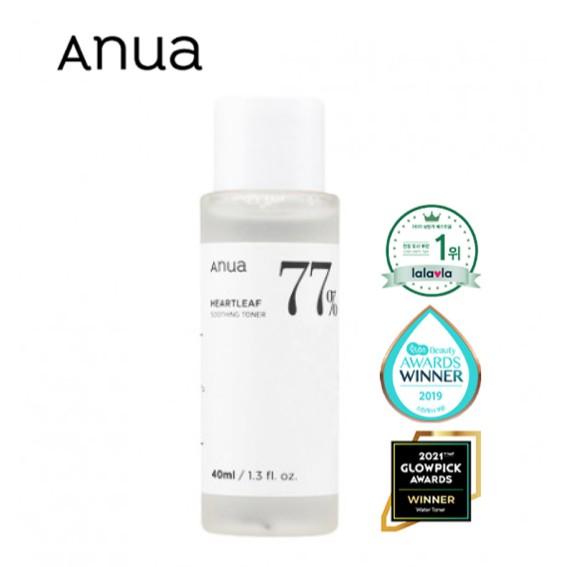 พร้อมส่ง/ของแท้ ANUA Heartleaf 77% Soothing Toner โทนเนอร์พี่จุน30ml