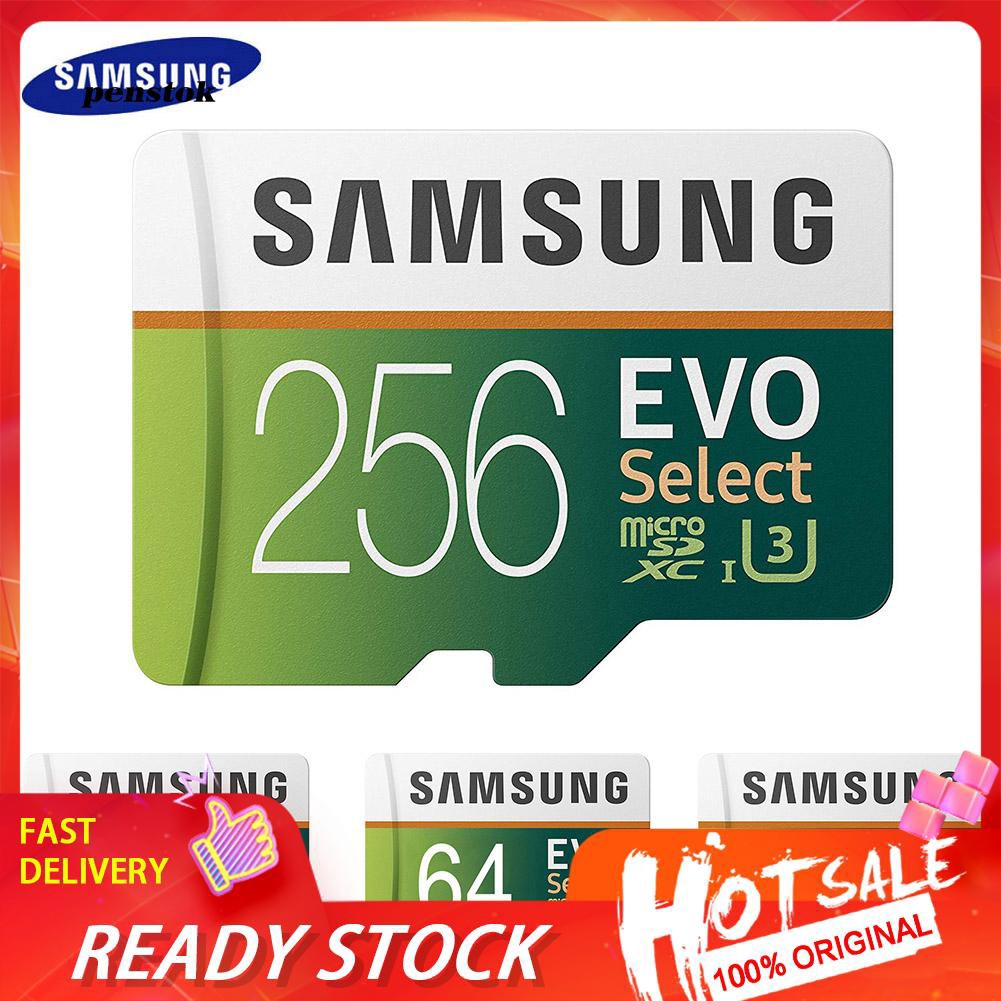Samsung Evo 64 G / 128 G / 256 G / 512 G / 1 T Tf การ์ดหน่วยความจําสําหรับโทรศัพท์มือถือแท็บเล็ตกล้อง