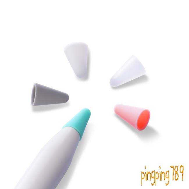 ดี 10Pcs/Set DUX DUCIS for Apple Pencil 1/2 Silicone Protective Tip Cover Nib Caps