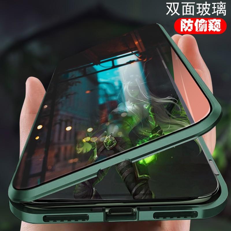 เคสโทรศัพท์มือถือแบบสองด้านสําหรับ Iphone X Pro Max 11
