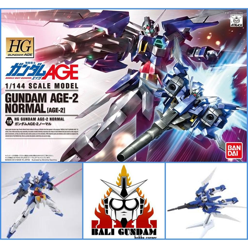 Hg 1 / 144 Age 2 Normal Gundam Age 2 รองเท้าผ้าใบลําลองเหมาะกับการเดินทาง