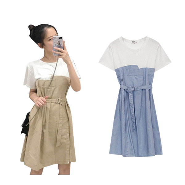 XIAOZHAINV dress เดรส  ชุดเซทผู้หญิง