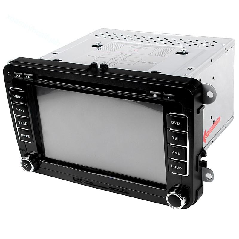 เครื่องเล่น DVD GPS บลูทูธสำหรับรถยนต์ 7 นิ้ว