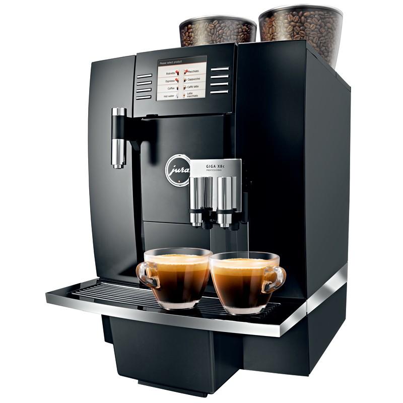 เครื่องทำกาแฟสด เครื่องชงกาแฟ จูร่า GIGA X8 หน้าจอสัมผัสสีแบบ TFT ขนาด4.3 ขนาด370x565x497มม. Bonashopz