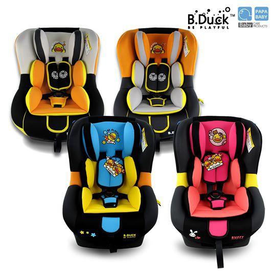 B.Duck คาร์ซีท เบาะนิรภัยติดรถยนต์ รุ่น BD-LM309A สำหรับเด็กแรกเกิด-4ขวบ ปรับได้ 4 ระดับ