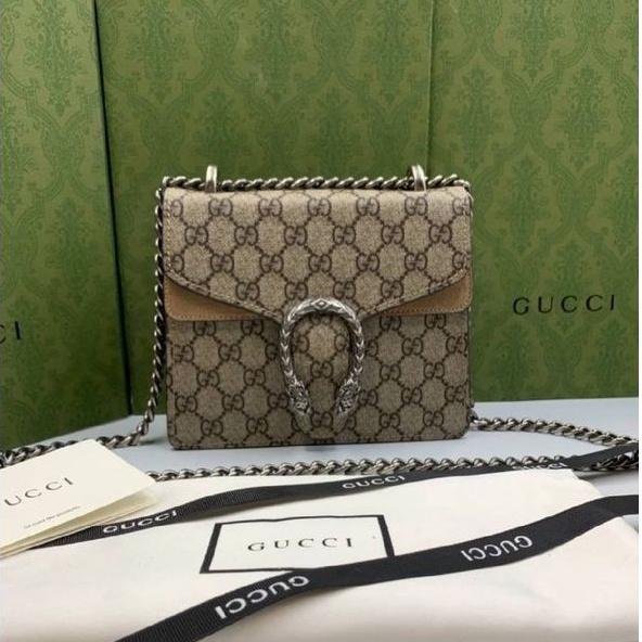 Gucci Dionysus mini shoulder bag Original Beige