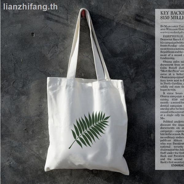 กระเป๋า 3danello กระเป๋าสะพายข้างcoach ผู้หญิงกระเป๋า sanrioกระเป๋าสะพายข้าง❏☫Japanese and Korean simple net red original fresh canvas bag female literary environmental protection shopping one shoulder student