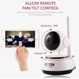 โค้ด TECH30 ลด 30%** กล้องวงจรปิด Daytech Wireless IP Camera CCTV Baby Monitor IP