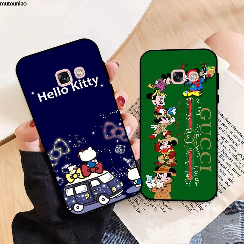 Samsung A3 A5 A6 A7 A8 A9 Pro Star Plus 2015 2016 2017 2018 Disney Pattern-1 Silicon Case Cover