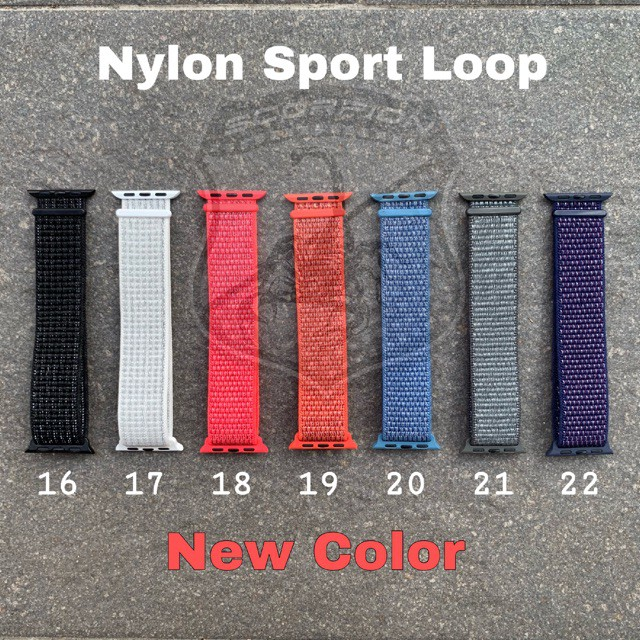 📣🔥💥❁🔥พร้อมส่ง🇹🇭 สาย Apple Watch Nylon Sport Band for Series 1,2,3,4,5