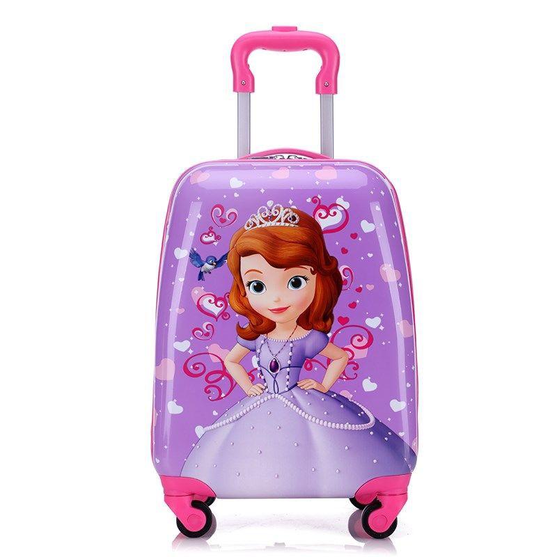 ♀รถเข็นเด็ก กระเป๋าเดินทางเด็กน่ารัก กระเป๋าเดินทางเด็ก เจ้าหญิงอนุบาล กระเป๋าเด็กผู้หญิง รุ่น