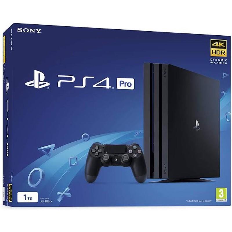 เครื่อง PS4 Pro แท้มือสอง เครื่องศูนย์ไทย ความจุ 1TB
