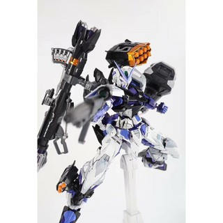 Review [DABAN : โมจีน] MG 1/100 Astray Blue Frame Full Weapon
