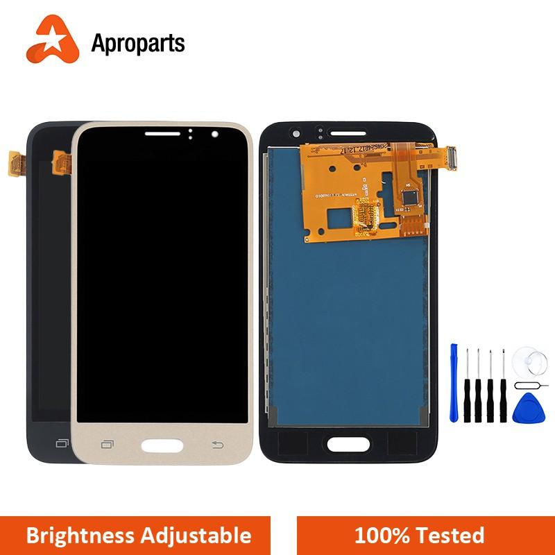 จอ LCD สำหรับ Samsung Galaxy J1 2016 J120 จอแสดงผลจอสัมผัส J120F J120H  J120H J120G J120DS การเปลี่ยนหน้าจอ LCD