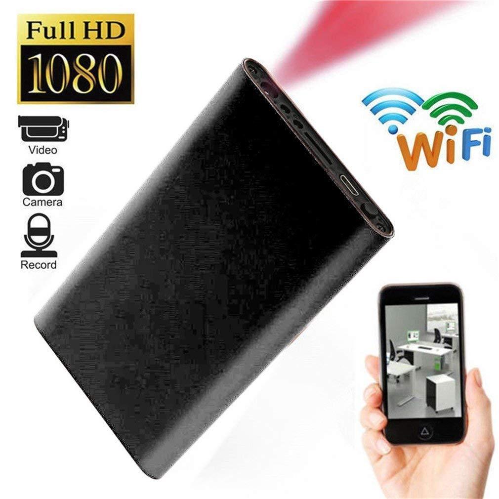 HD 1080P Mini WIFI Spy Hidden IP Camera Power Bank Wireless Recorder Cam 32GB