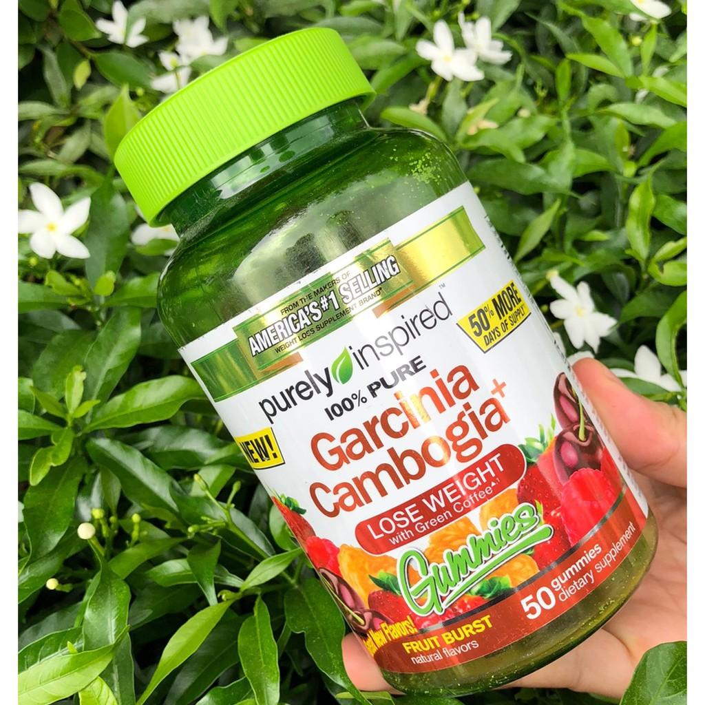 Purely Inspired Garcinia Cambogia Gummies Fruit Burst 50