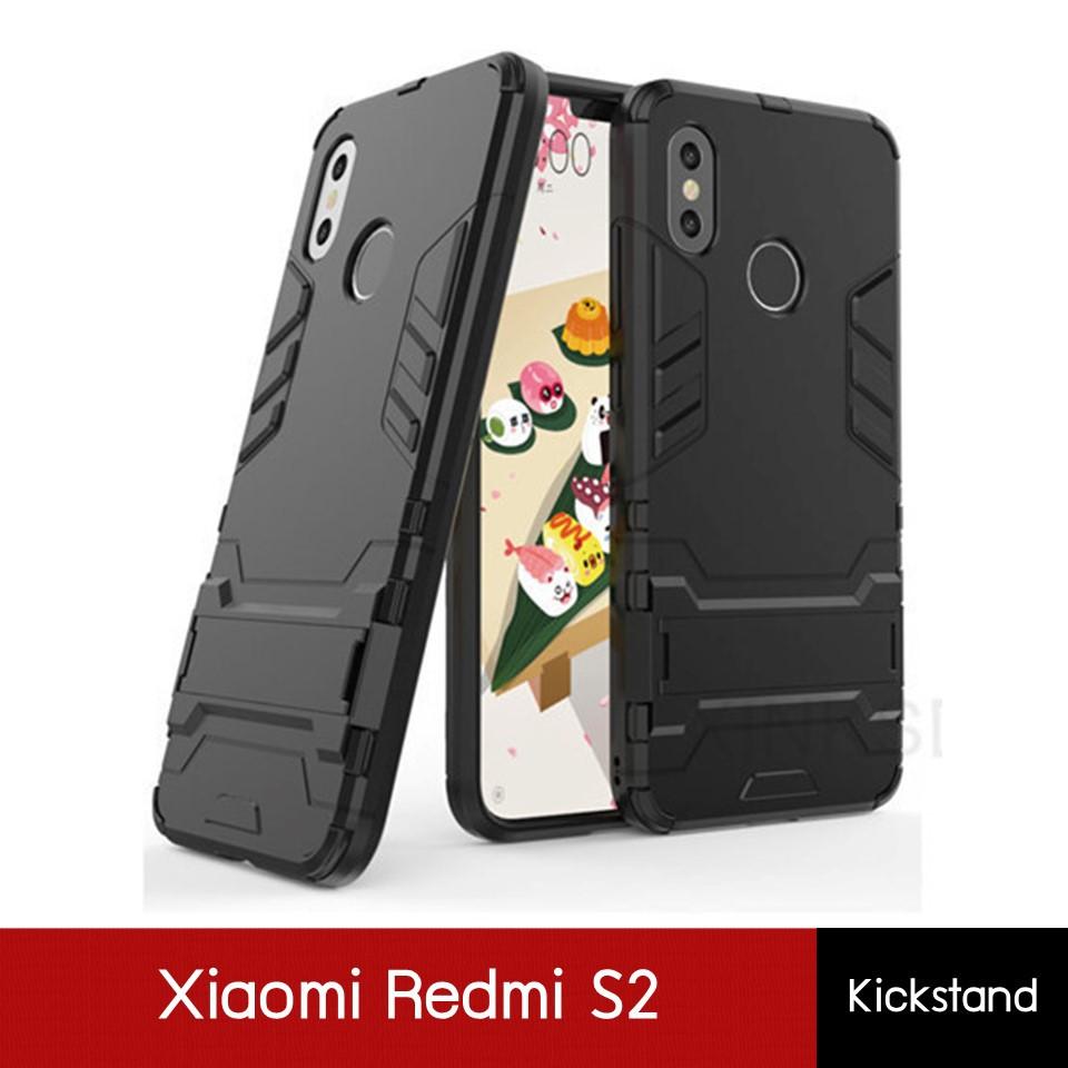 **พร้อมส่งจากไทย** Xiaomi Redmi S2 Case Kickstand เคสเกราะ เคสกันกระแทก | Shopee Thailand