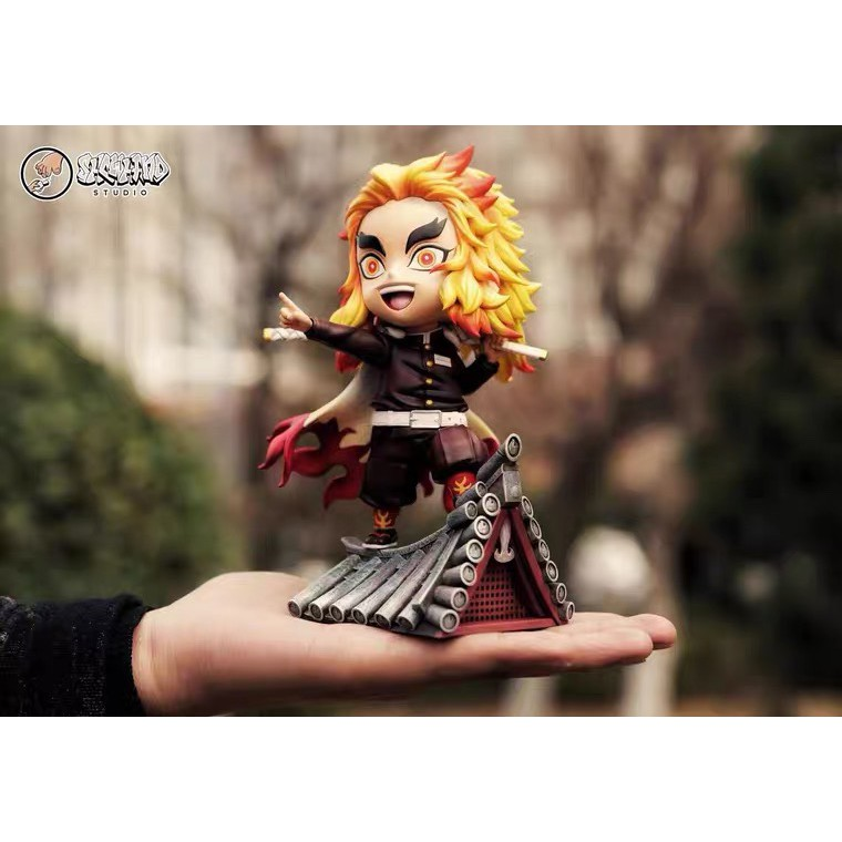 ✇▪✣การเติมยอดคงเหลือ ShowHand SH Nine Pillars Apricot Shou Lang Yan Zhu Demon Slayer GK Limited Statue Figure Model