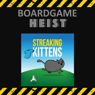 Exploding Kittens: Streaking Kittens (Expansion) [BoardGames]