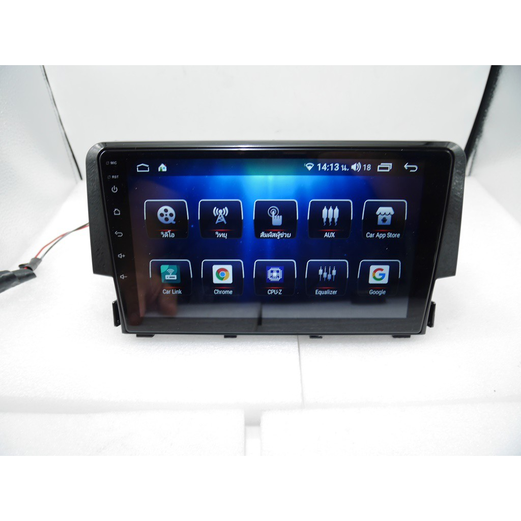 จอ Android Honda Civic FC/FK 9นิ้ว SC7862 2CPU 8CORE 6+128/4+64/3+32 V10 DSP 4G WIFI5G CARPLAY/T3L 4CORE 2+32