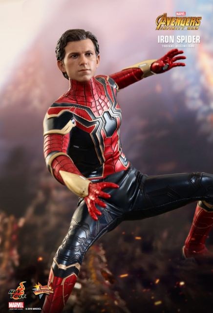 Iron Spider Pincers Hot Toys 1//6 MMS482 Avengers Infinity War Iron Spider