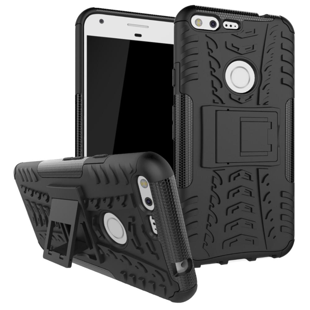 เคสสำหรับ Google Pixel XL Heavy Duty Rugged Armor Hybrid Case Stand Cover | Shopee Thailand