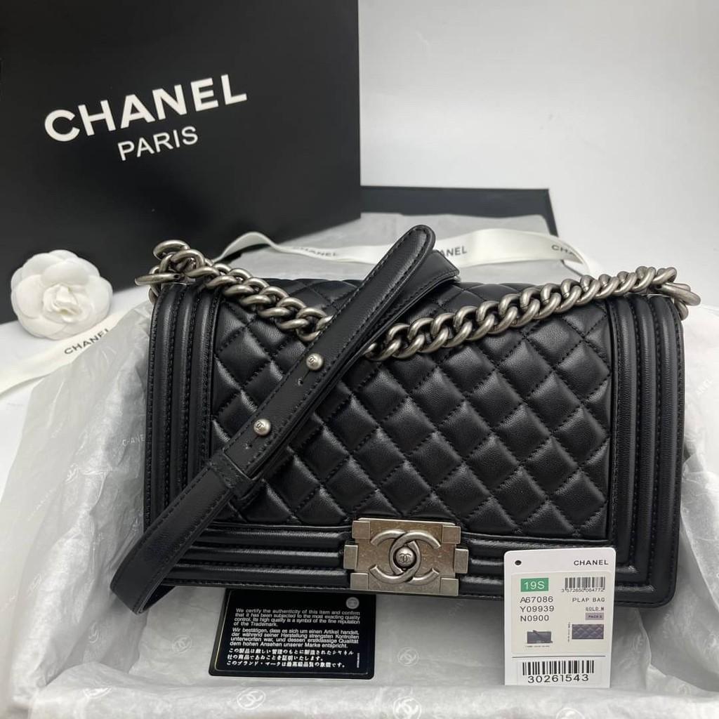 "Chanel boy 10"" Grade vip Size 25 cm อปก.Fullboxset"