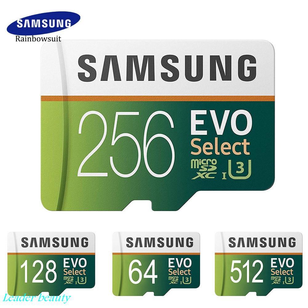 ( Lb ) Samsung Evo 64 G / 128 G / 256 G / 512 G / 1t Tf การ์ดหน่วยความจําสําหรับโทรศัพท์มือถือแท็บเล็ตกล้อง
