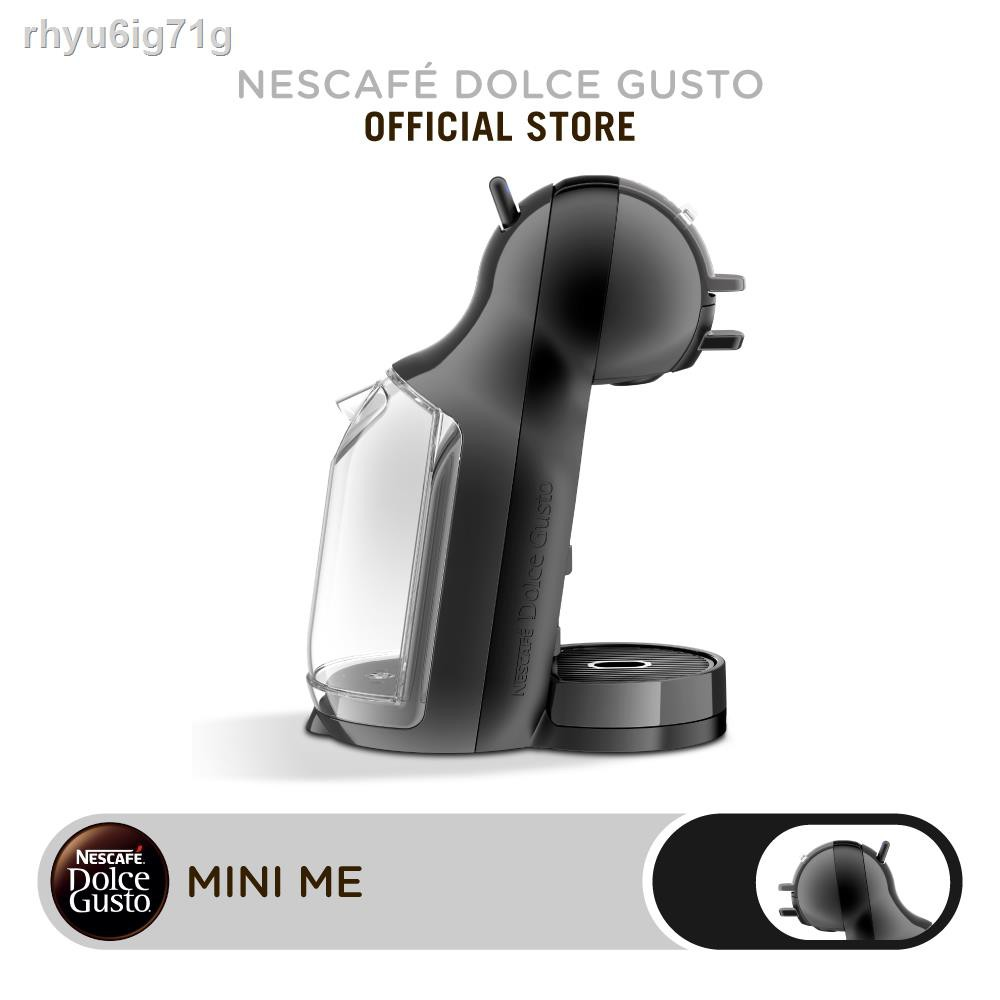 เครื่องทำกาแฟ▨▼☇NESCAFE DOLCE GUSTO เนสกาแฟ โดลเช่ กุสโต้ เครื่องชงกาแฟแคปซูล MINIME BLACK