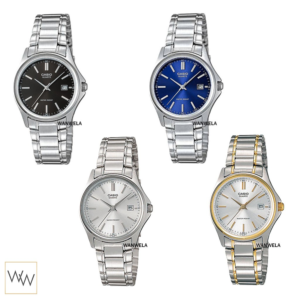 ของแท้ นาฬิกาข้อมือ Casio ผู้หญิง รุ่น LTP-1183 (สายสแตนเลส)