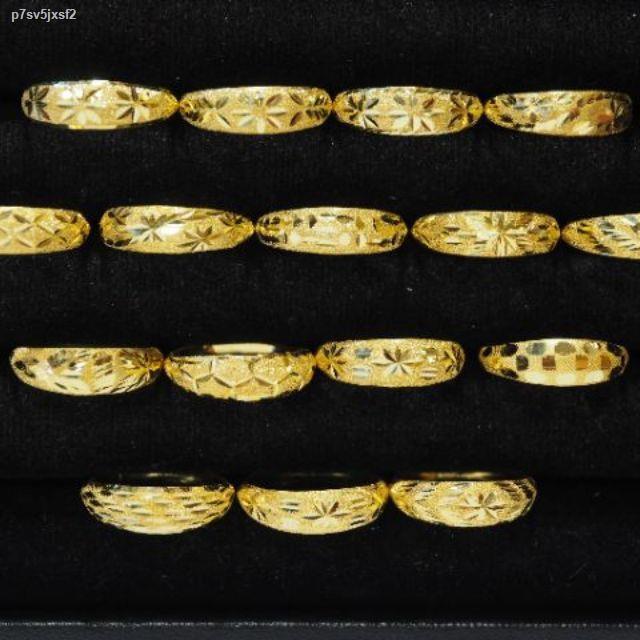 ราคาต่ำสุด♠แหวน1กรัม 2,099฿ ทักแชทเลือกไซส์เลือกลายได้ ทองแท่งก็มีนะ