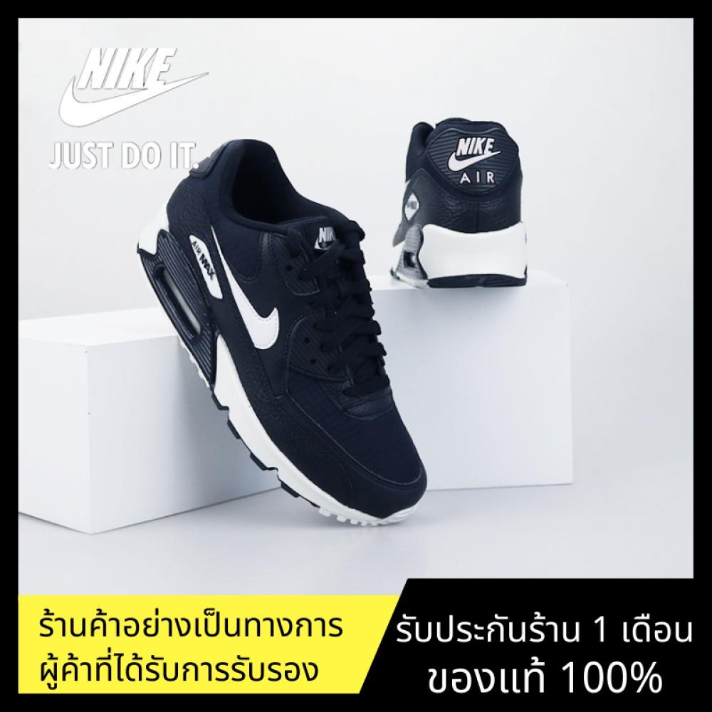 ของแท้อย่างเป็นทางการNike Air Max 90 รองเท้ากีฬา รองเท้าผู้ชาย รองเท้าสตรี รองเท้าวิ่ง รองเท้าลำลอง แฟชั่น อ่อนนุ่ม