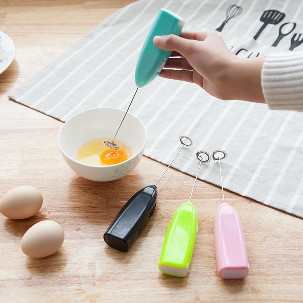 เครื่องตีฟองนมไฟฟ้า สำหรับชงกาแฟ เครื่องตีไข่ ตีฟองนม ไฟฟ้า แบบมือถือ อุปกรณ์เสริมสำหรับทำอาหาร