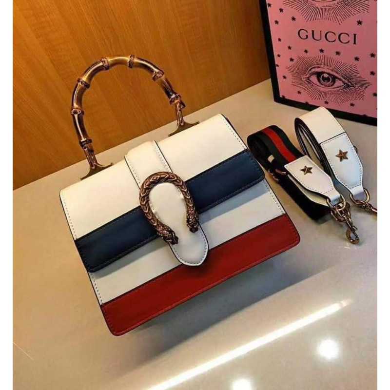 [สินค้าแบรนด์]Gucci Dionysus Leather Top Grade Quality