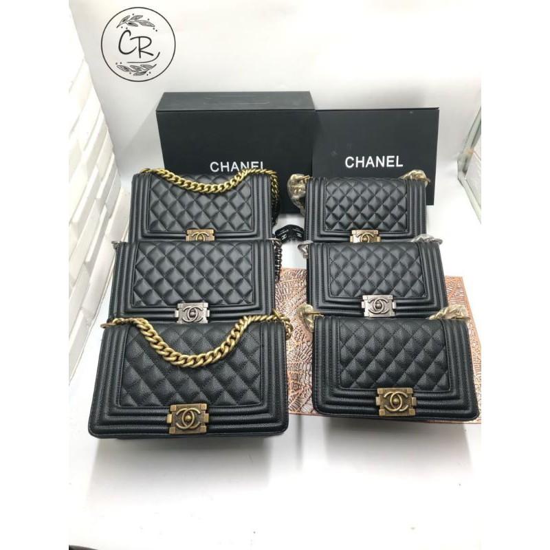 กระเป๋า Chanel boy 💚